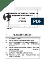 Programme de Verification Stocks 2009
