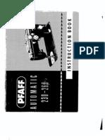 Pfaff 230-260