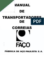MANUAL DE TRANSPORTADORES DE CORREIA FAÇO 78e8877f56