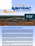 GasFrac Investor Presentation June 2010
