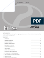 Perodua Kelisa L701 Ignition System Financial Transaction