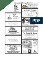 Bulletin Ads 8-14-11