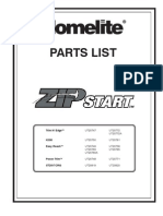 Homelite Parts List