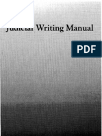 Judicial Writing Manual