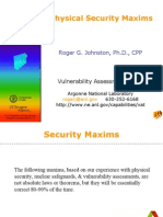 Security Maxims