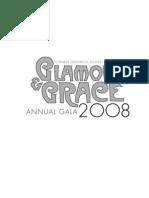 *Glamour and Grace* CHSA Annual Gala 2008 *Program*