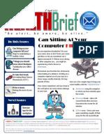 Health Brief - Issue 1
