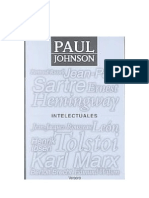 Johnson Paul - Intelectuales