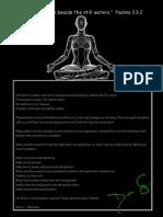 Don's Prayer/Meditation