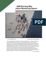 2008 Burning Man Stipulation Monitoring Report