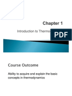 Chapter 1 Introduction to Thermodynamics