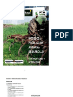 Modelos de Produccion Agraria