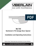 ML750 Installation Manual