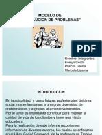 Presentación Modelo Resolución de Problemas