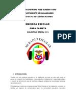 COLEGIO DISTRITAL JOSÉ EUSEBIO CARO emisora escolar