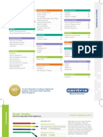 Inside Product Guide 2011-2012 Centrix
