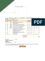 Examination Type