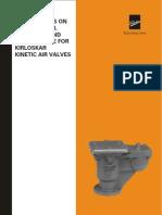 Kinetic Air Valves