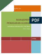 Manajemen Pemasaran Global-resume