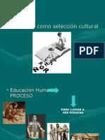 Currículo Como Selección Cultural