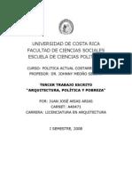 Ensayo de Politica Costarricense