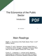 Eco of Public Sector - Joseph Stiglitz