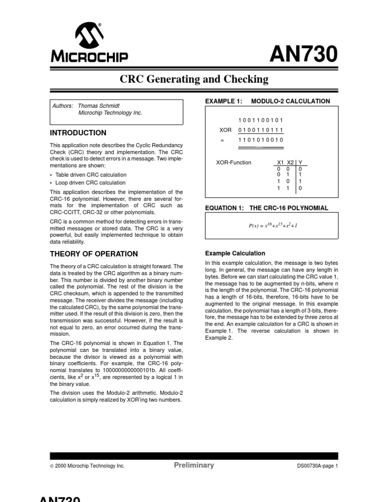 CRC Calculation | Computer Engineering | Computer Architecture
