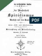Neu-Salems-Schriften - Die Wahrheit über Spiritismus 1895