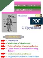 mucoadhesive system.ppt--vijay bhaskar