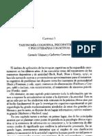 Taxonomía cognitiva y psicopatología