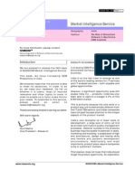 Mailer No. 030, Market Intelligence Issue No. 34, Role of Emd Sw in Elctronics OEM Business - India