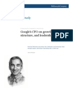 Google's CFO on Growth