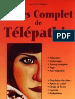 Jocelyne Fangain - Cours Complet de Telepathie
