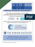 Werner Newsletter - Spring 2011 - Final Version