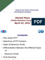 PVT Short Course for Cairo University