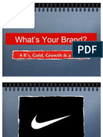 What's Your Brand?