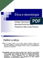 Ética e deontologia