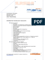 Chevron - CRUSH Report - 09A1