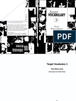 Target Vocabulary 3 With Key