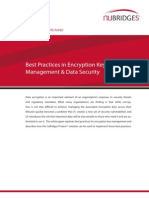 Best Practices in Encryption Key Management