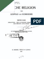 Arische Religion. Erster Band. Einleitung. Der altarische Himmelsgott das höchste gute Wesen