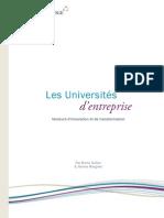 LivreBlanc Universites d Entreprise