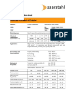 Saarstahl Spec Sheet of 42CrMo4 & 42CrMoS4