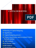 Captial Budgeting Advanced