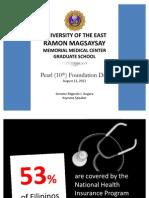 Keynote Speaker at University of the East Ramon Magsaysay Memorial Medical Center (UERMMMC)