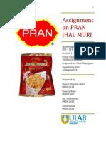 Assignment of Pran Jhal Muri