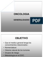 GENERALIDADES ONCOLOGIA