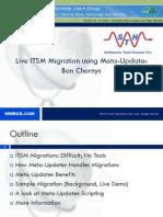 ITSM 6 7.5 Migration