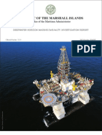 Republic of the Marshall Islands DEEPWATER HORIZON Marine Casualty Investigation Report-High Resolution