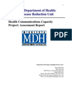 Health Communications Capacity Project Assessment Report